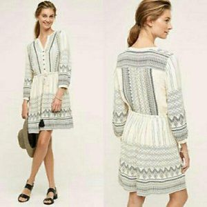 Anthropologie Floreat Perrie Lace Dress